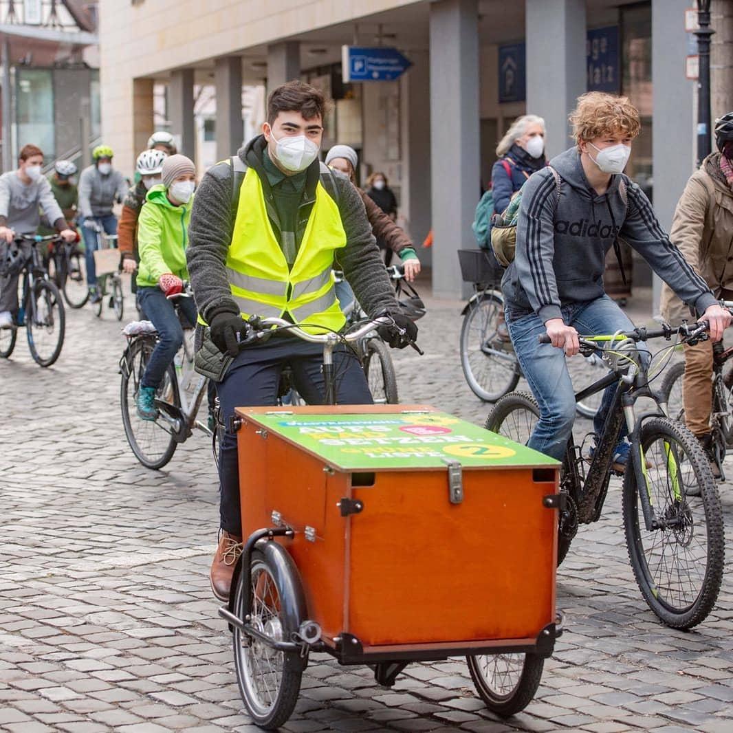Friday for future – Fahrraddemo