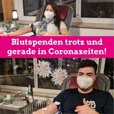 Niklas Wagener Blutspende