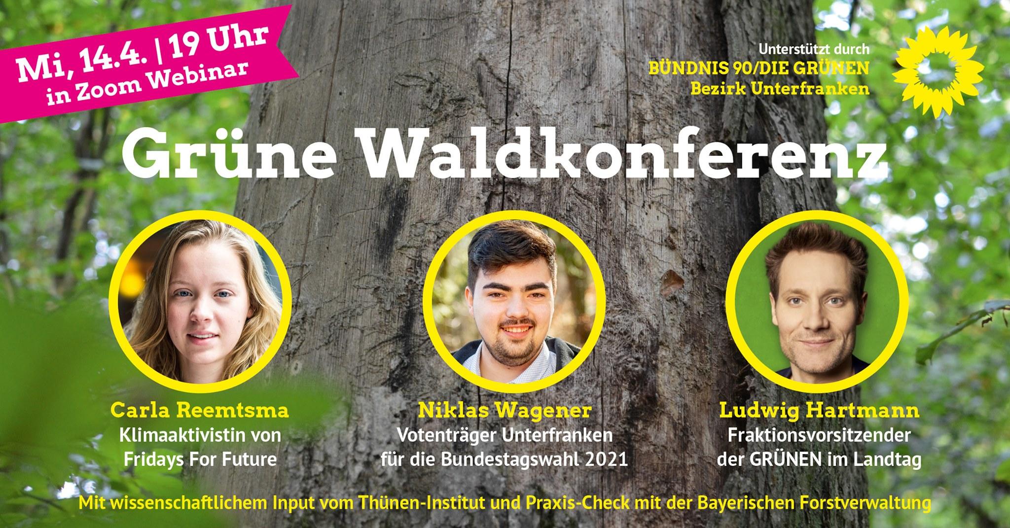 Grüne Waldkonferenz – Was lernen wir aus dem Waldzustandsbericht?
