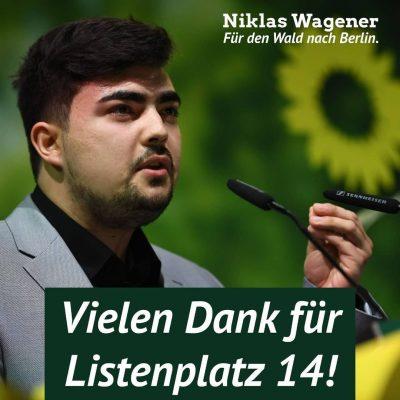 Niklas Wagener Danke