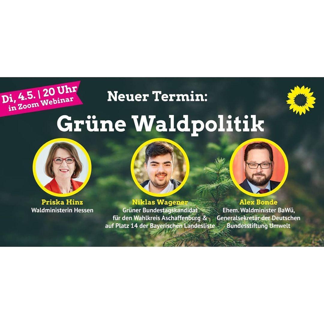 Grüne Waldpolitik