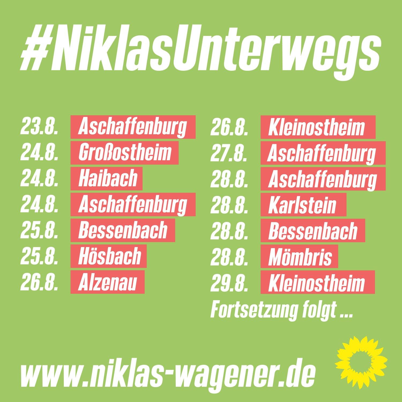 Niklas unterwegs